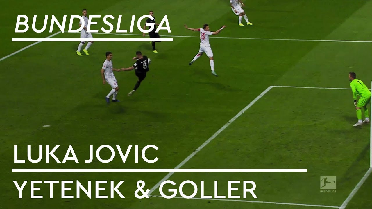 Luka Jovic | Yetenek & Goller