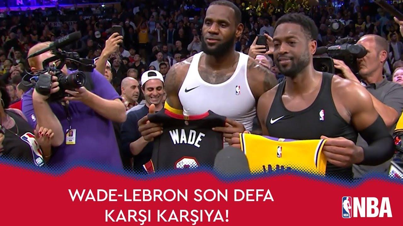Wade-LeBron Son Defa Karşı Karşıya!