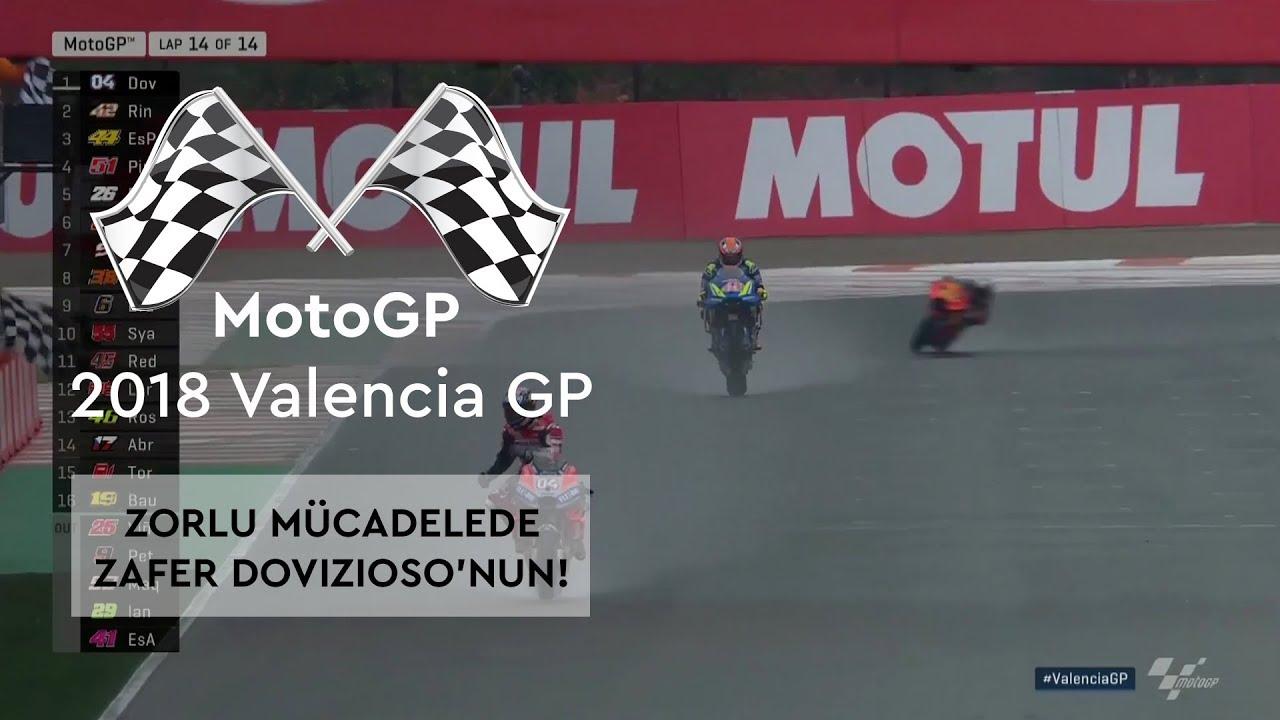 Zorlu Yarışın Galibi Dovizioso! (MotoGP 2018 - Valencia Grand Prix)