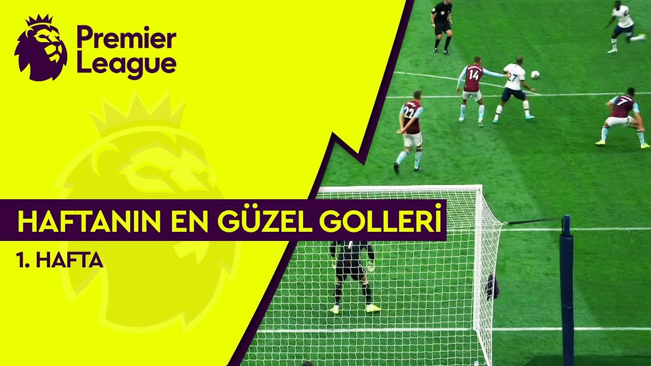Premier League'de 1. Haftanın En Güzel Golleri (2019/20)