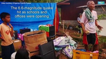 Mindanao shaken by deadly earthquake