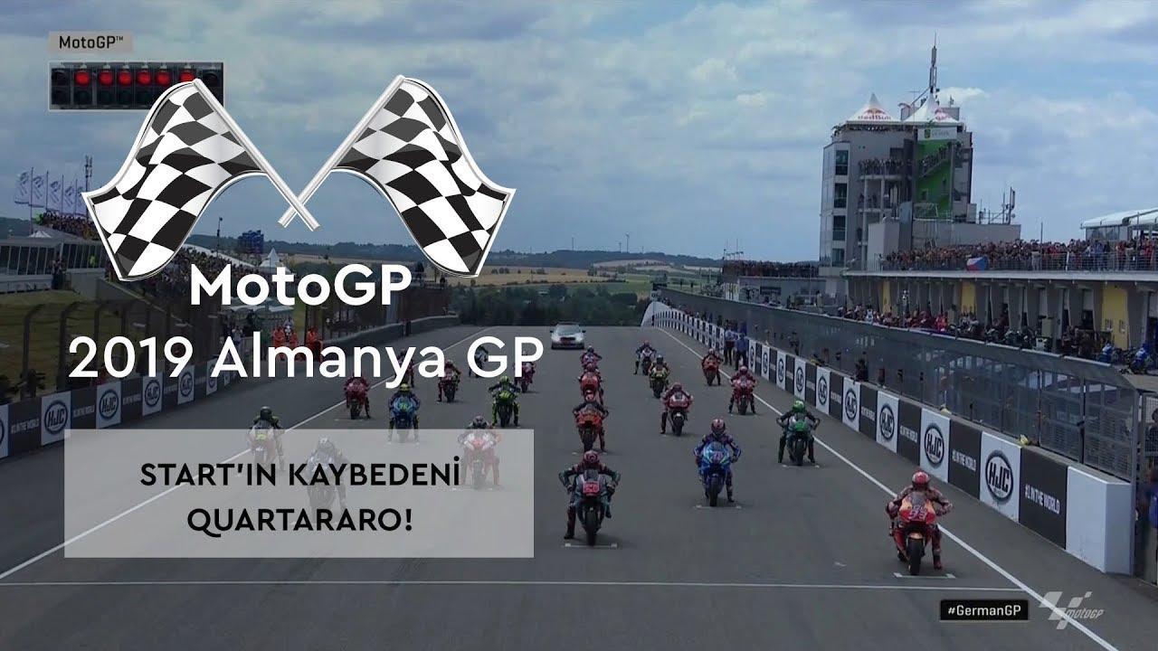 Start'ın Kaybedeni Quartararo! (MotoGP 2019 - Almanya Grand Prix)
