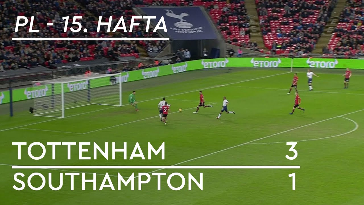 Tottenham - Southampton (3-1) - Maç Özeti - Premier League 2018/19