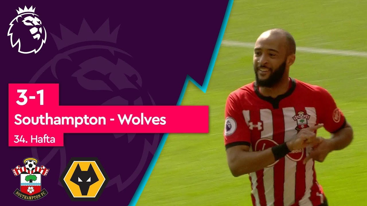 Southampton - Wolves (3-1) - Maç Özeti - Premier League 2018/19
