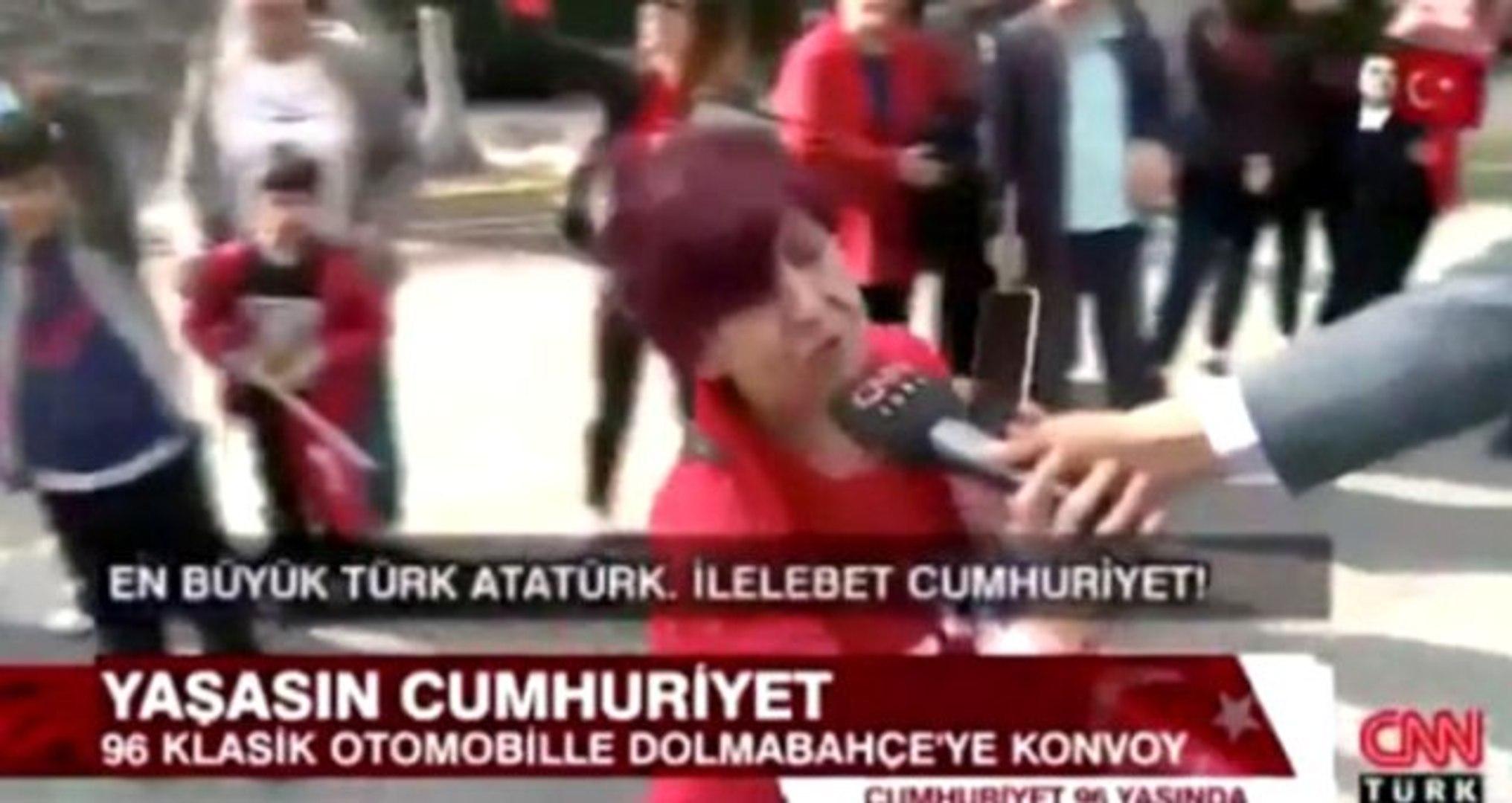 CNN Türk'teki canlı yayın kazası sosyal medyada gündem oldu