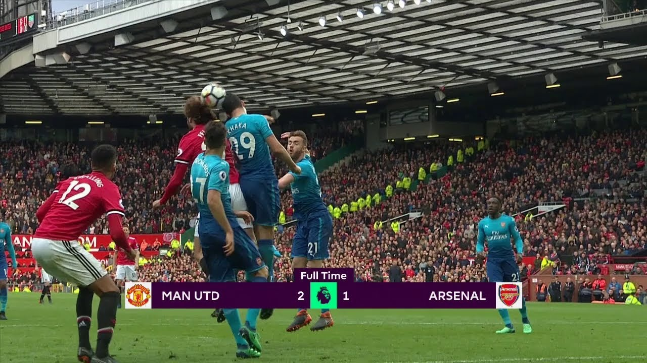 Manchester United - Arsenal (2-1) - Maç Özeti - Premier League 2017/18