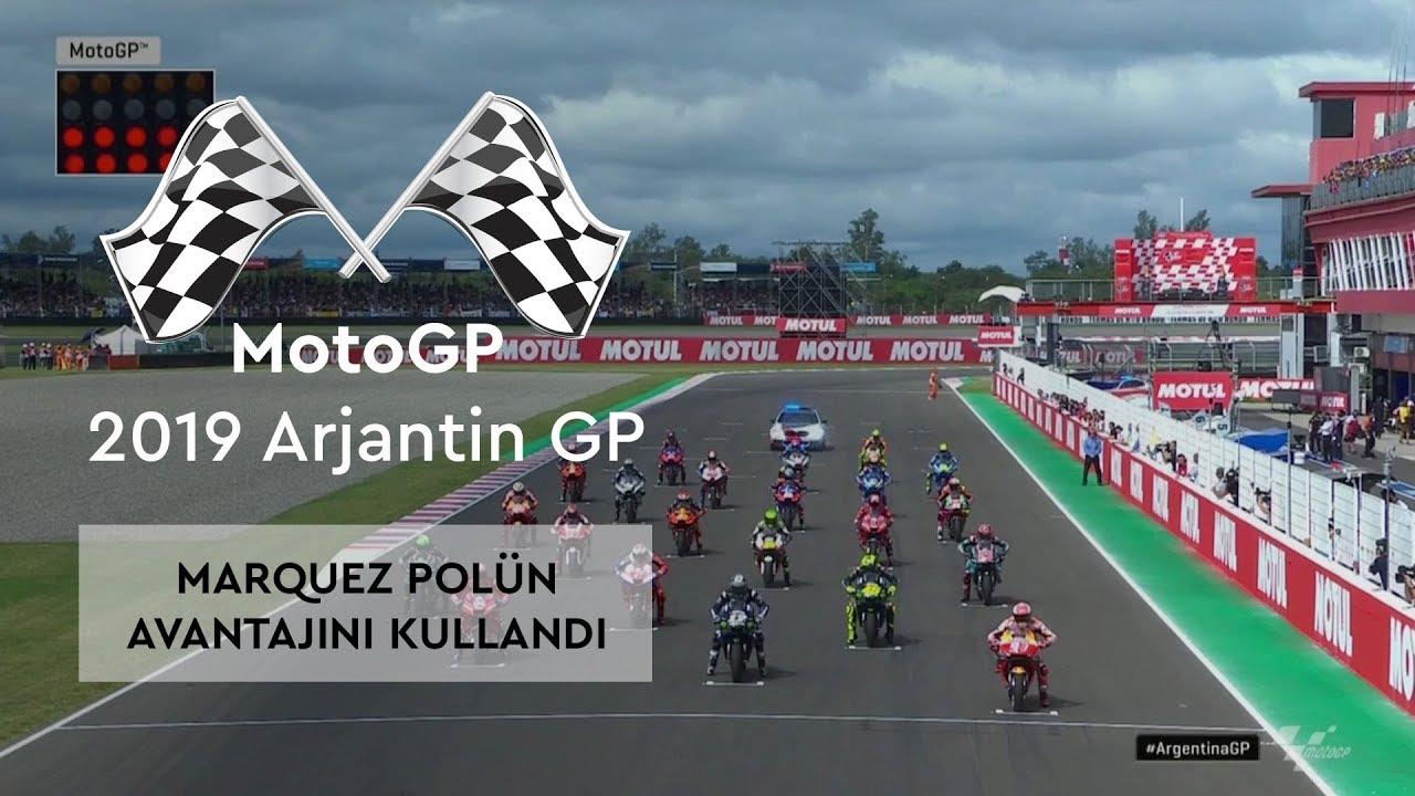 Marquez Polün Avantajını Kullandı (MotoGP 2019 - Arjantin Grand Prix)