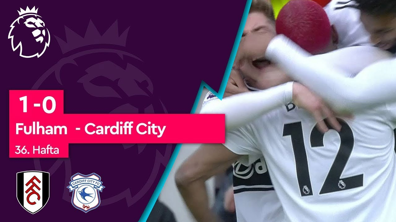 Fulham - Cardiff City (1-0) - Maç Özeti - Premier League 2018/19