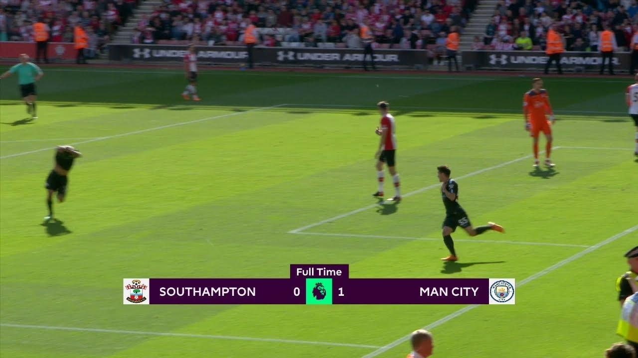 Southampton - Manchester City (0-1) - Maç Özeti - Premier League 2017/18