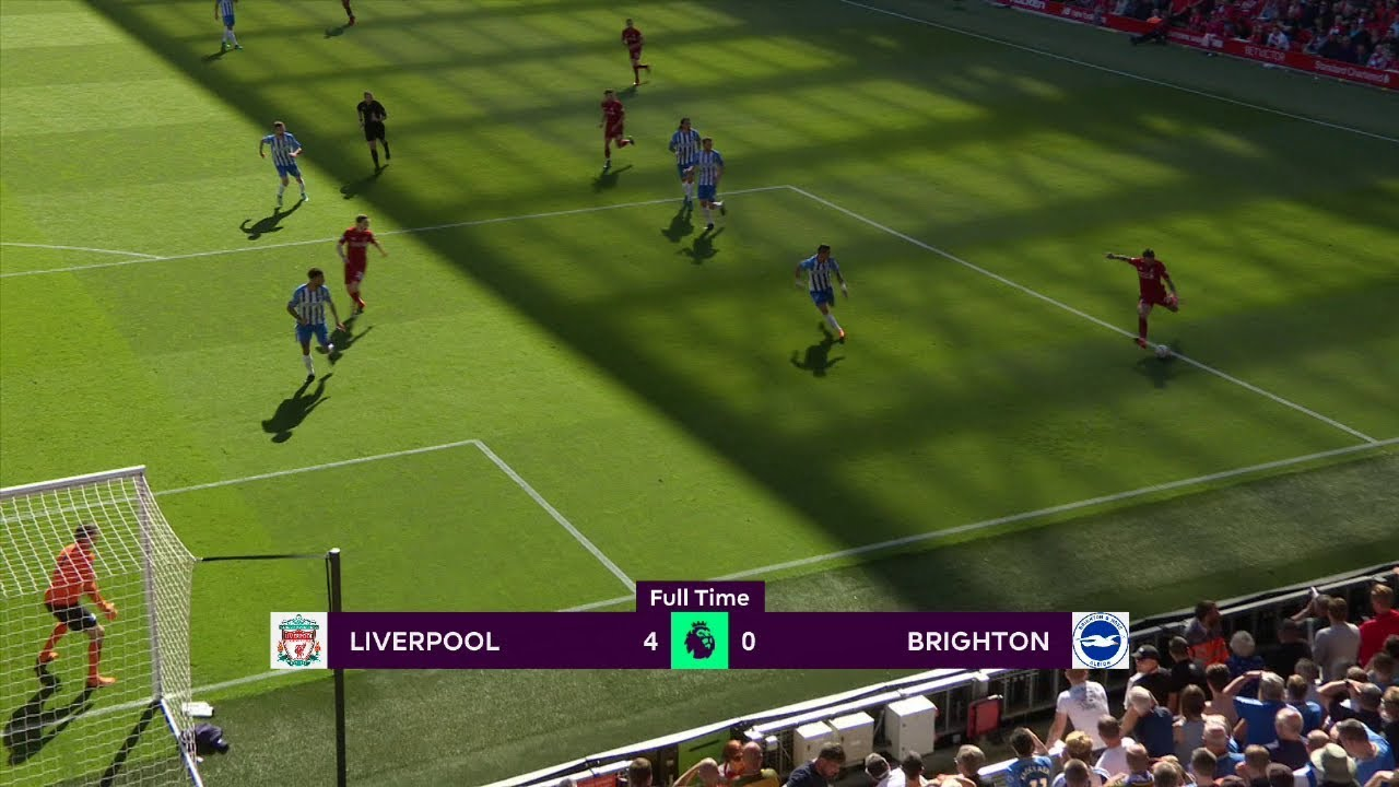 Liverpool - Brighton (4-0) - Maç Özeti - Premier League 2017/18