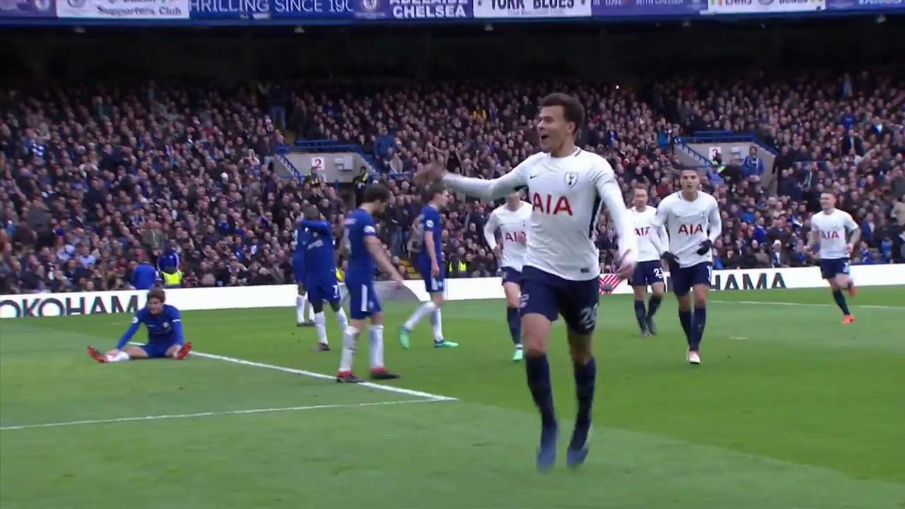 Chelsea - Tottenham (1-3) - Maç Özeti - Premier League 2017/18