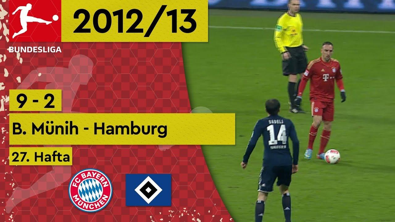 Bayern Münih - Hamburg (9-2) - Maç Özeti - Bundesliga 2012/13