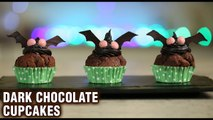 Dark Chocolate Cupcakes | How To Make Cupcakes | Halloween Special | Dessert Recipes | Varun