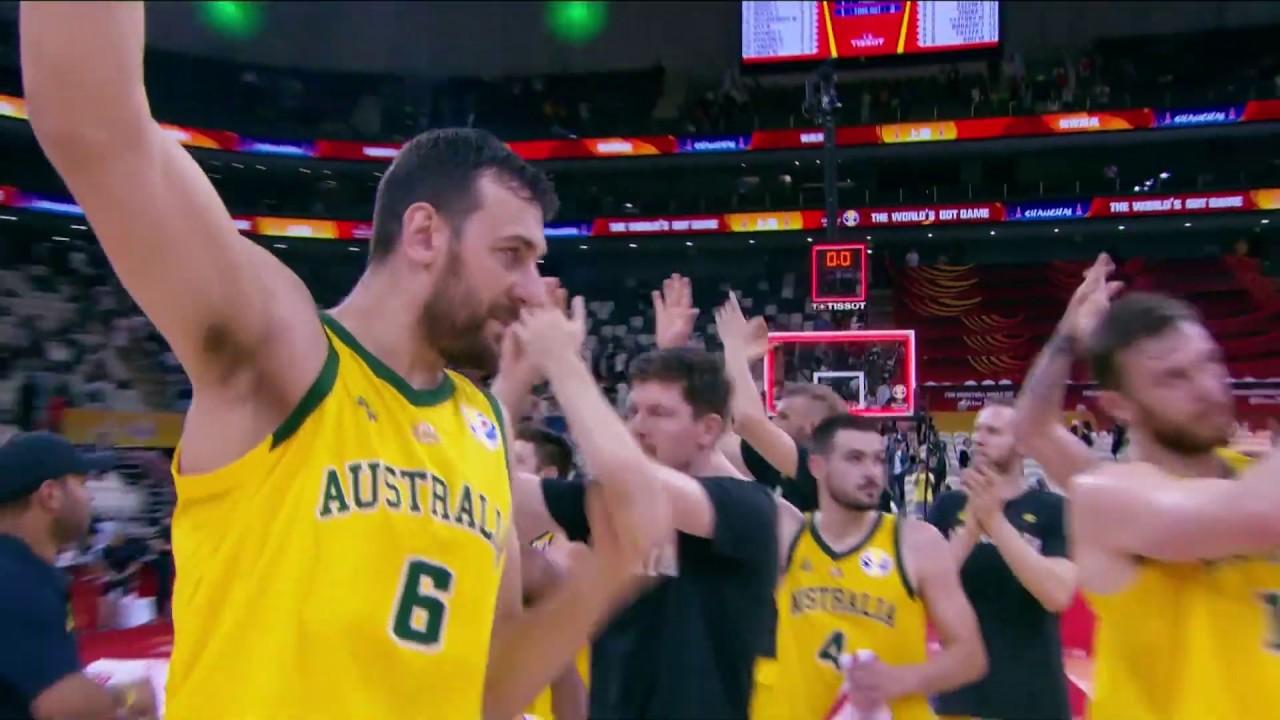 Avustralya 82 - 70 Çekya | Maç Özeti - FIBA 2019 Dünya Kupası