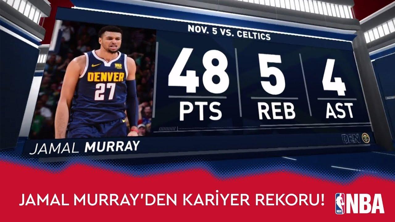 Jamal Murray'den Kariyer Rekoru!