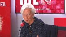 """Christine Lagarde : """"Pour protéger les retraites (...) il faut faire oeuvre de pédagogie et de patience"""""""