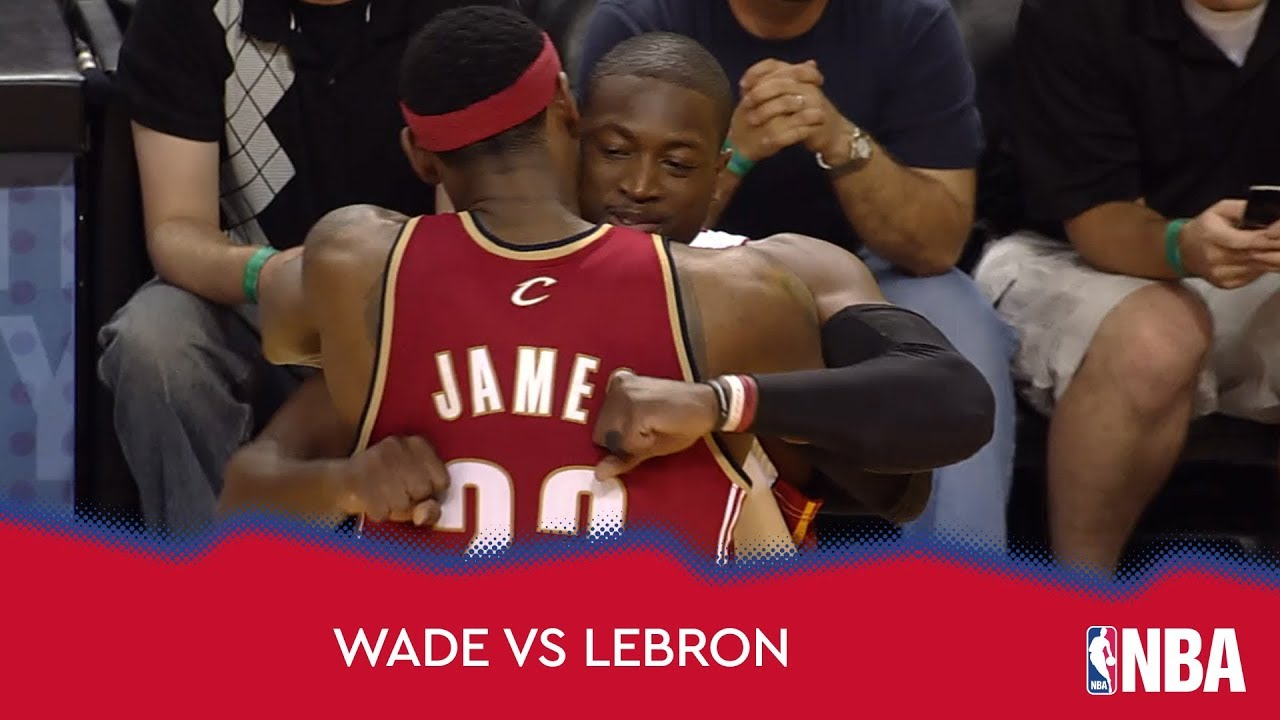 Dwyane Wade vs LeBron James!