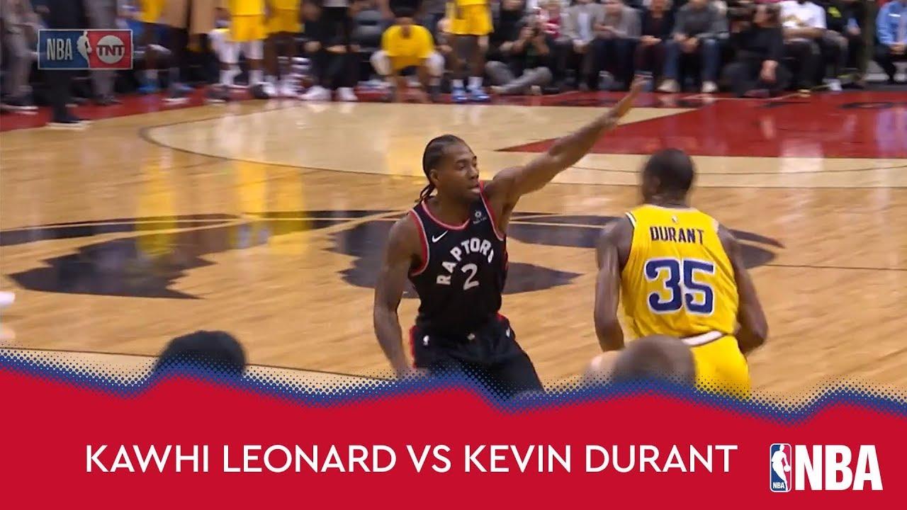 Kawhi Leonard vs Kevin Durant