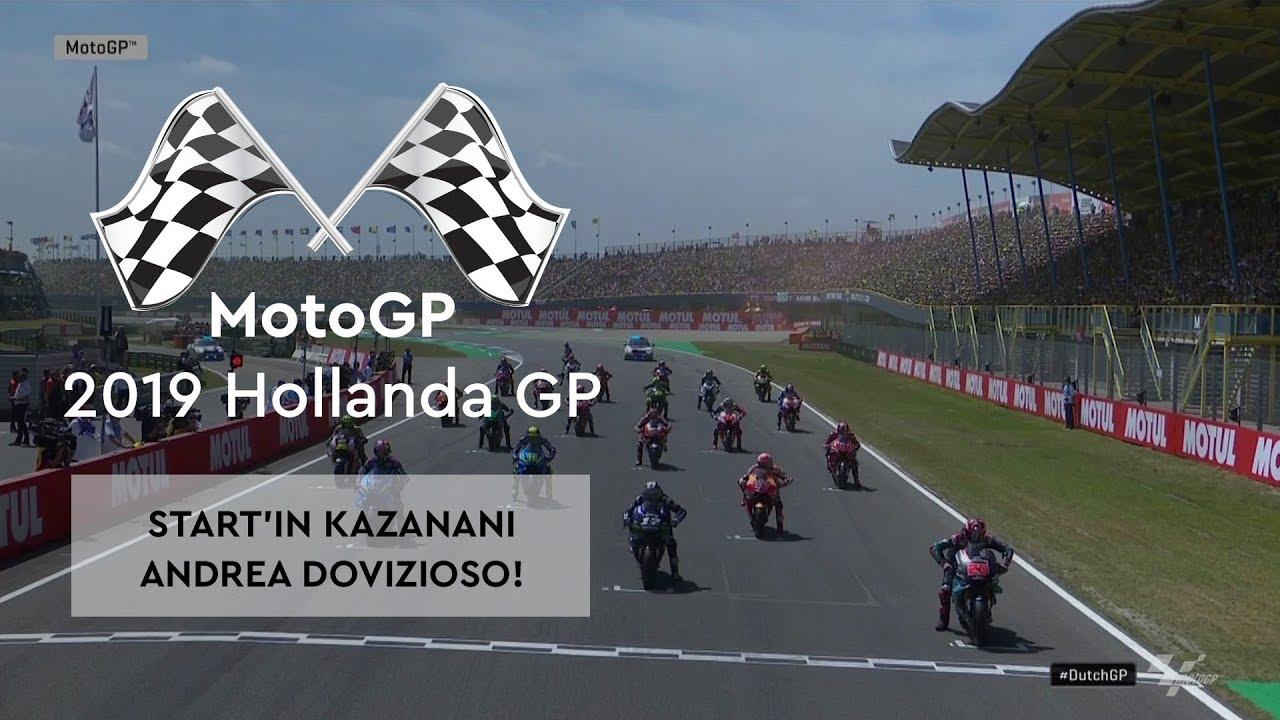 Start'ın Kazananı Dovizioso! (MotoGP 2019 - Hollanda Grand Prix)