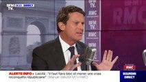 """Manuel Valls """"ne pense pas"""" que la proposition de François Hollande de supprimer le Premier ministre """"aille dans le bon sens"""""""