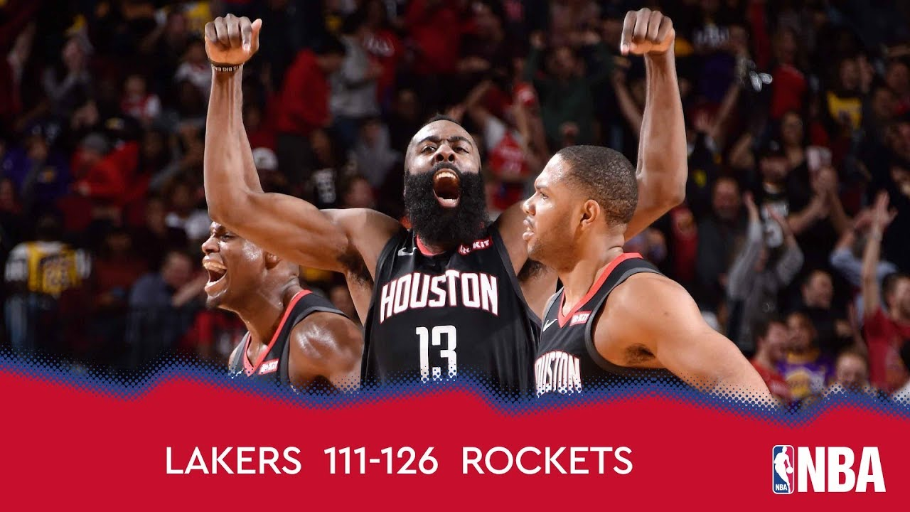 Los Angeles Lakers 111-126 Houston Rockets