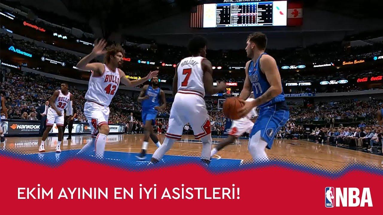 NBA'de Ekim Ayının En iyi Asistleri!