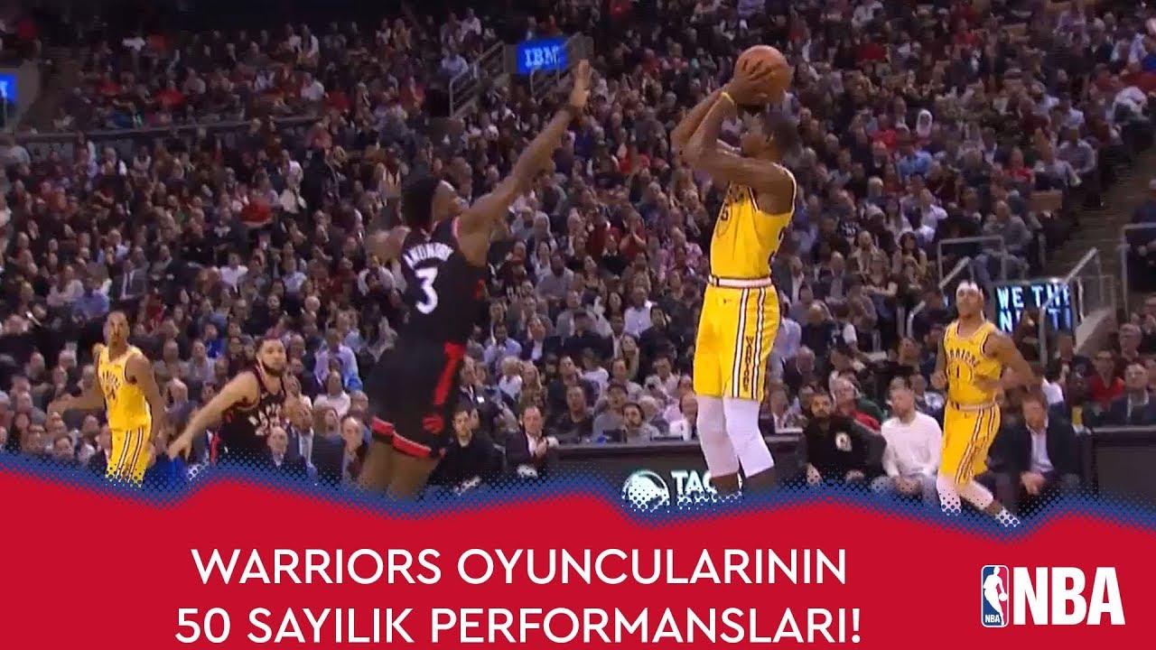 Warriors Oyuncularının 50 Sayılık Performansları!
