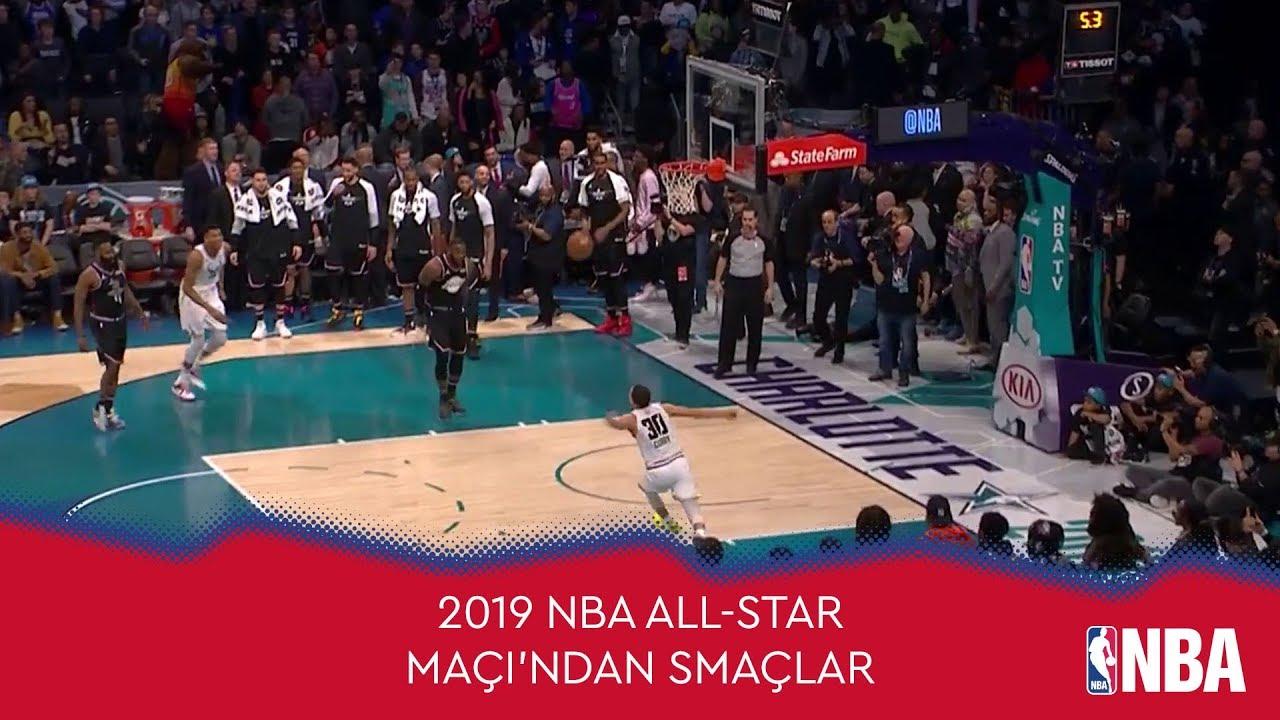 2019 NBA All-Star Maçı'ndan Smaçlar