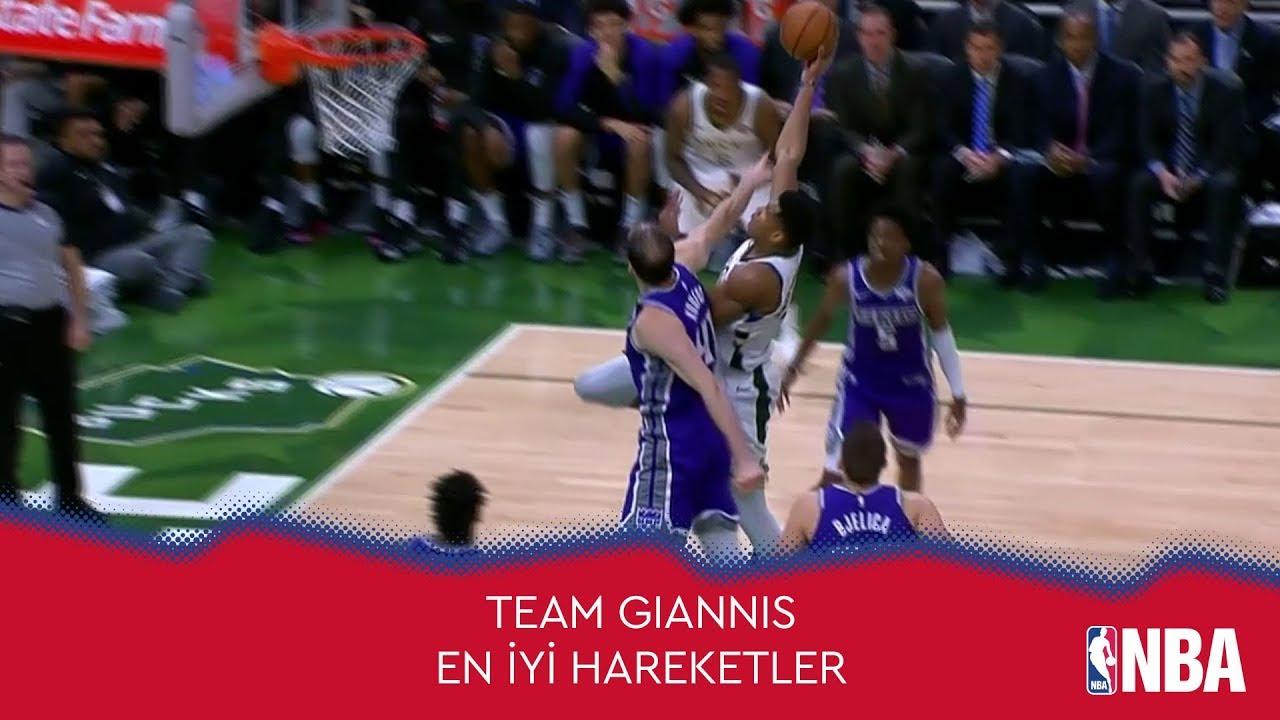 NBA All-Star'a Doğru | Team Giannis'den En İyi Hareketler