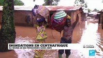Centrafrique : au moins 28.000 sans-abris après des inondations inédites