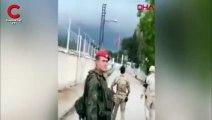 Azeri asıllı Rus askeri, Türk askerine sınırda böyle seslendi
