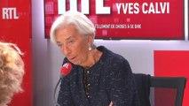 Christine Lagarde était l'invitée de RTL