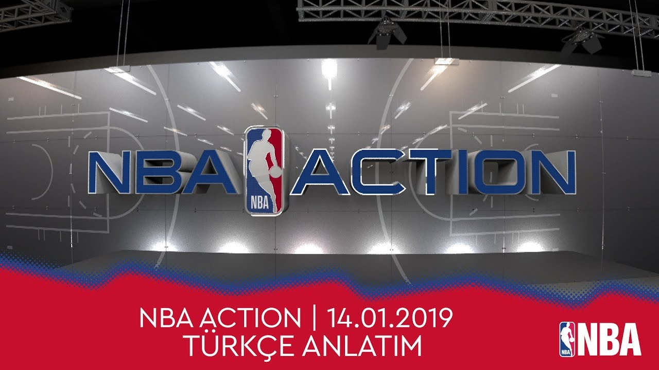 NBA Action | 14.01.2019 | Türkçe Altyazı