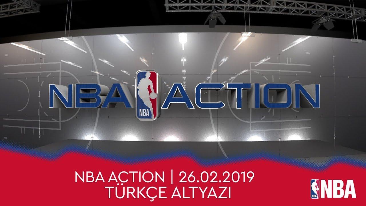 NBA Action | 26.02.2019 | Türkçe Altyazı