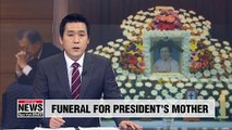 Japanese ambassador visits funeral of President Moon's mother amid bilateral dispute