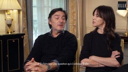 Charlotte Gainsbourg et Yvan Attal : « J'aurais aimé qu'il connaisse mon père »