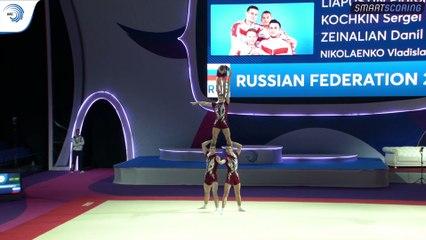 2019 European Championships in Acrobatic Gymnastics - Holon (Israel) (7)