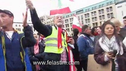 """تجمع اللبنانيون في برلين يوم الاحد ومن جميع الطوائف ليقولوا """"كلن يعني كلن"""""""