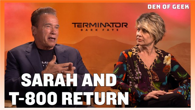 Terminator: Dark Fate - Linda Hamilton and Arnold Schwarzenegger Interview