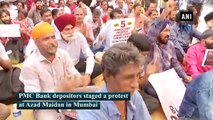PMC Bank row: Depositors continue their protest in Mumbai