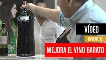 [CH] Vino Novo mejora el sabor del vino barato en 10 minutos