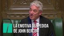 El carismático John Bercow se despide de Westminster
