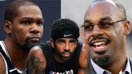 Kevin Durant CLAPS BACK At Donovan Mcnabb For Calling Kyrie Irving A Cry Baby!