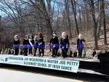 Irish Step dancing at Saint Patrick's Parade, Worcester, MA