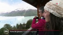 Fonte des glaciers: le Perito Moreno, exception argentine