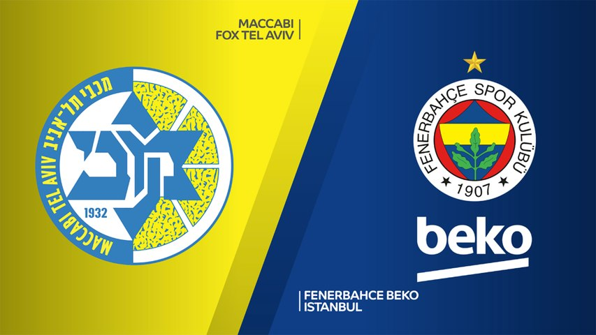 Maccabi FOX Tel Aviv - Fenerbahce Beko Istanbul Highlights | EuroLeague, RS Round 5