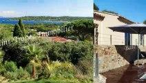 Luxueuse villa avec vue mer panoramique à Saint-Tropez.