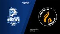 MoraBanc Andorra - Promitheas Patras Highlights | 7DAYS EuroCup, RS Round 5