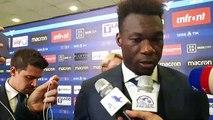Caicedo in mixed zone dopo Lazio Torino