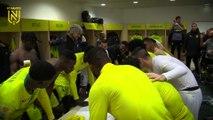 FC Nantes - Paris FC : la joie du vestiaire